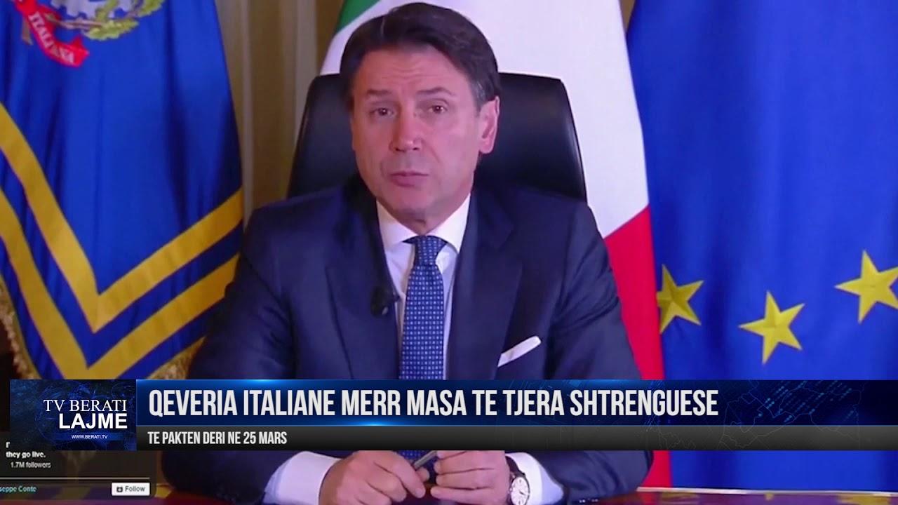 QEVERIA ITALIANE SHTON MASAT KUNDER KORONAVIRUSIT