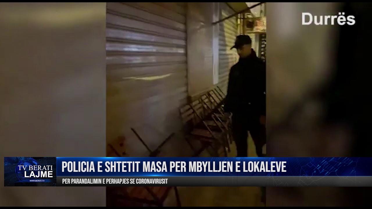 POLICIA MASA PER MBYLLJEN E LOKALEVE