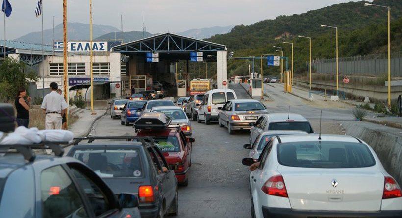 Greqia shtyn edhe me dy javë bllokimin e kufirit me Shqipërinë ...
