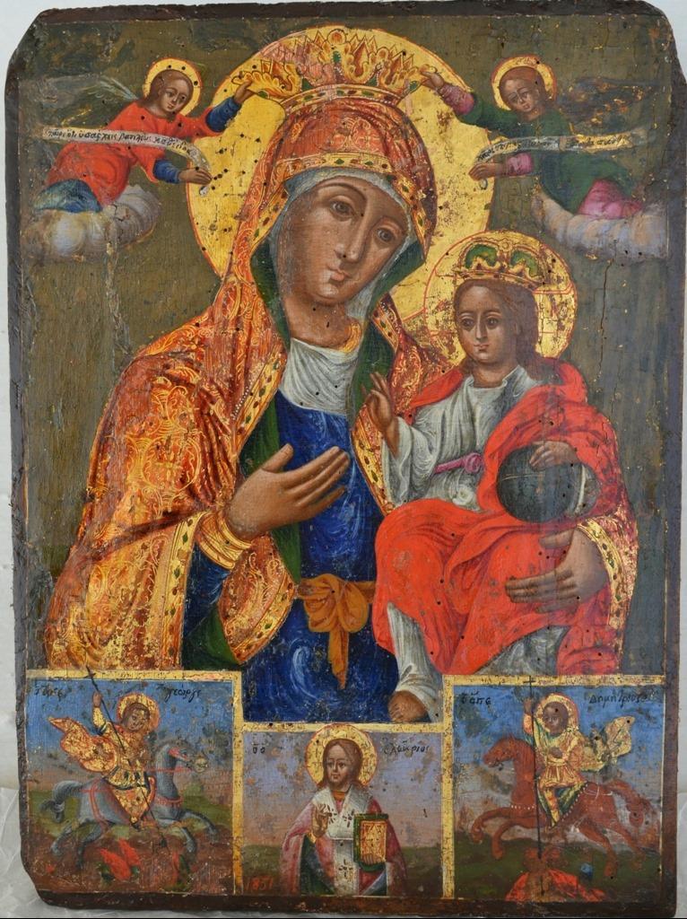 """Përfundon restaurimi i dy ikonave të koleksionit """"Onufri"""" në Berat"""