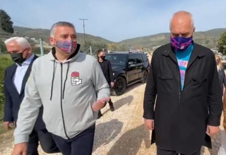 """""""Të quhesh Ura Vajgurore, tmerr"""", Rama nuk i kursen batutat në Berat, flet edhe për afrimin e Nasip Naços nga LSI: Skuadrat forcohen duke marrë lojtarët më të mirë"""