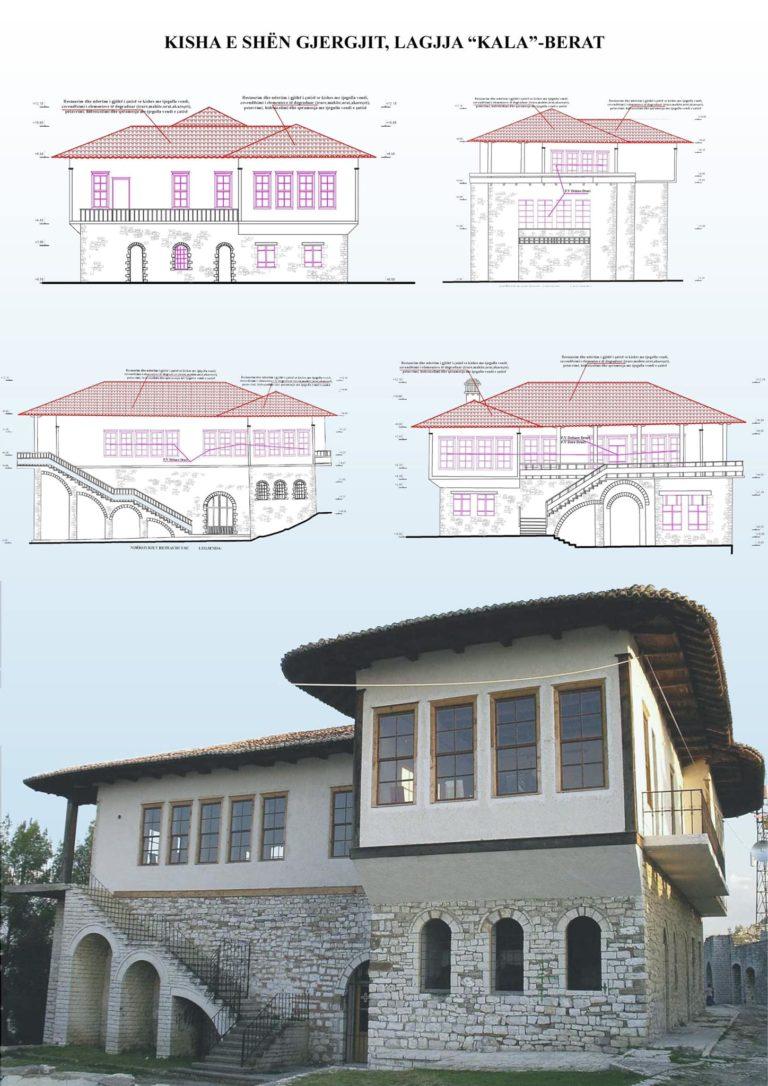 Restaurim i Kishës së Shën Gjergjit në Berat