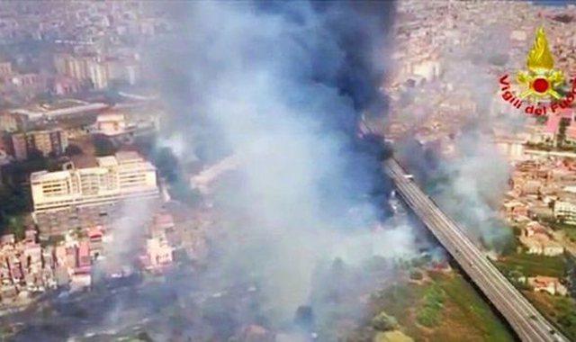 Mbi 160 vatra zjarri në Itali, dyshim për zjarrvënie të qëllimshme