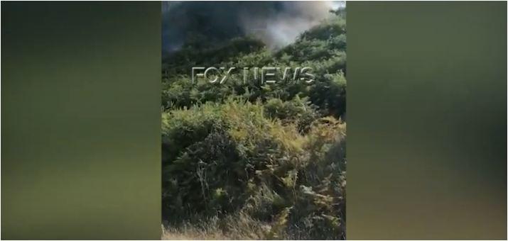 Nuk ndalet zjarri në qarkun e Vlorës, përfshihen nga flakët kodrat e fshatit Xhyherinë (VIDEO)